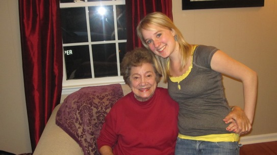2010 - Me and Grandma Reva