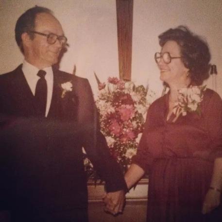 Grandma Byrd and Papa Ray