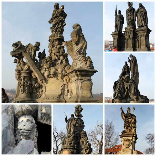Charles Bridge Statues 1